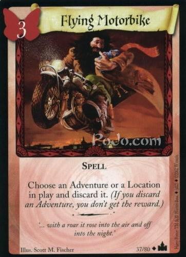 Flying Motorbike (Trading Card)