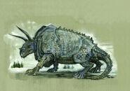 Graphorn Illustrated-Fantastic-Beasts