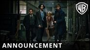 Fantastic Beasts and Where to Find Them – Extended Announcement Trailer – Warner Bros