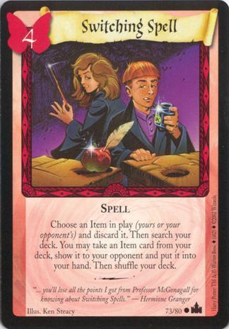 Switching Spell (Trading Card)