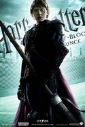 HBP Main Character Banner Ron Weasley
