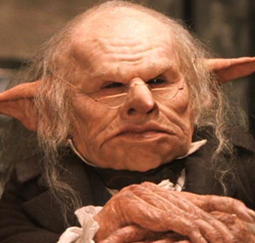 Gringotts Head Goblin