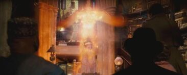 1000px---Albus Dumbledore-- using Fawkes to teleport away from --Cornelius Fudge-- and --Doleres Umbridge--.jpg