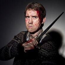 Deathly Hallows 2- Neville Longbottom holding the Gryffindor's sword.jpg