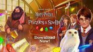 Harry Potter Puzzles & Spells Worldwide Launch Trailer