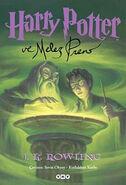 Harry Potter ve Melez Prens kitap kapağı