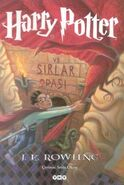 Harry Potter ve Sırlar Odası kitap kapağı