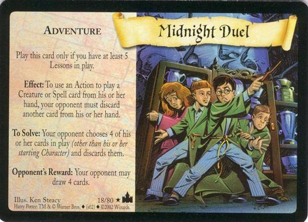 Midnight Duel (Trading Card)