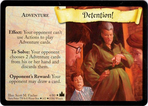 Detention!