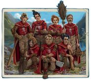Wędrowcy z Wigtown (Quidditch przez wieki, wydanie ilustrowane)