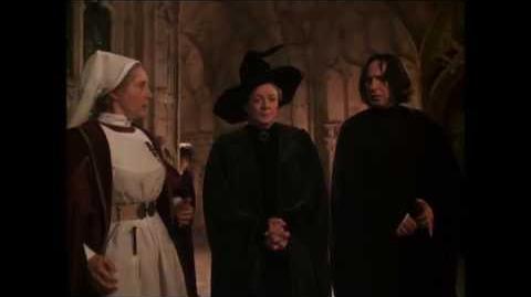 Макгонагалл и Снегг отправляют Локонса в Тайную комнату