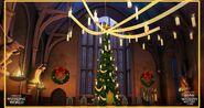Wieka Sala w Święta (Harry Potter Hogwarts Mistery)