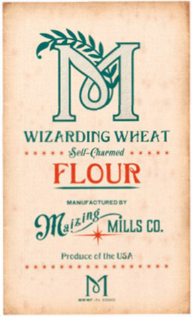 Wizarding Wheat Self-Charmed Flour