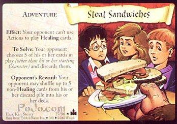 Stoat Sandwiches