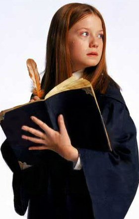 Ginny reading Tom Riddle's diary.jpg