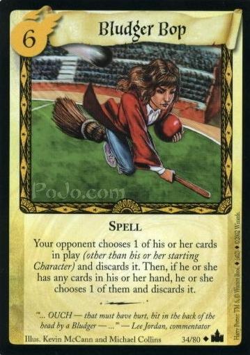 Bludger Bop (Trading Card)