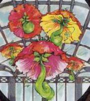 Kwiaty wielkości parasola