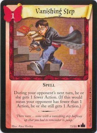 Vanishing Step (Trading Card)