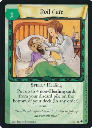 Boil Cure (Trading Card)