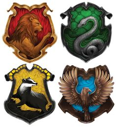 Details about  /White Harry Potter Houses #1108