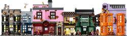 Ulica Pokątna jako zestaw LEGO