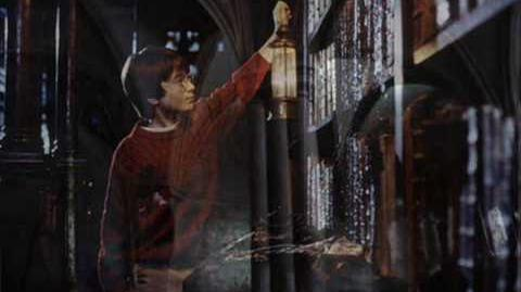 13. The Invisibility Cloak and The Library Scene