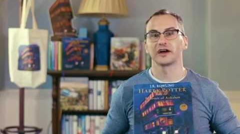 Jim Kay talks about illustrating 'Harry Potter and the Prisoner of Azkaban'