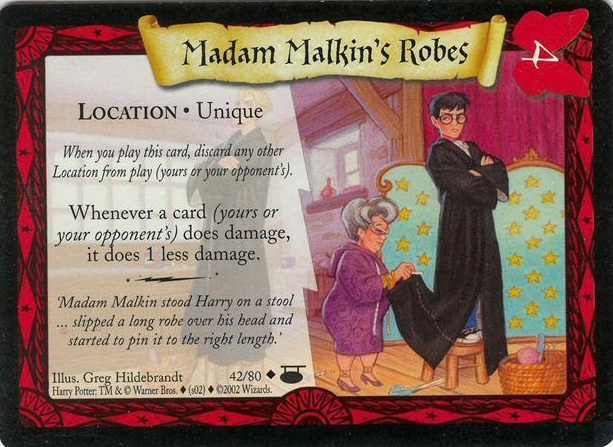 Madame Malkin − szaty na wszystkie okazje (karta)