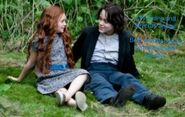 Severus and Lily as children (Hunter's Melody)