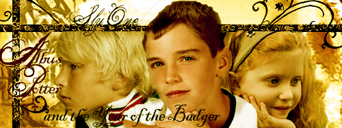 Albus Potter and the Year of the Badger