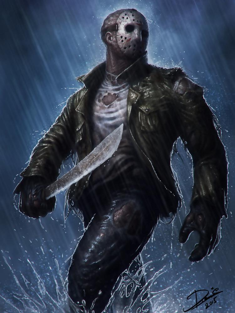 Jason Voorhees Black (A Killer's Song)