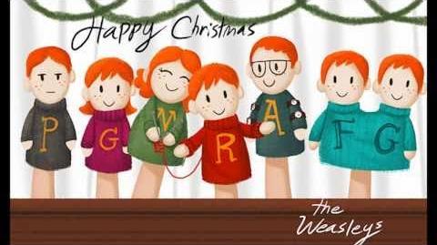Potter Puppet Christmas Card Yule Ball 2010 info!