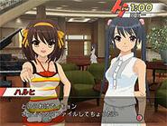 Haruhi and Friend