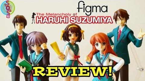 Figure Review Figma - Main Cast of Haruhi Suzumiya by GoodSmile Company