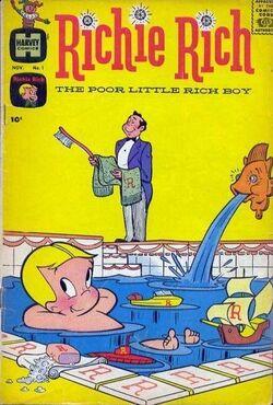 Richie Rich comic No 1.jpg