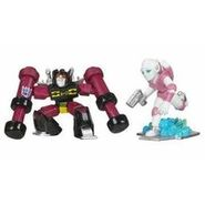 Arcee and rumble out of box