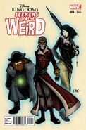 Seekers of the Weird 4 variant cover