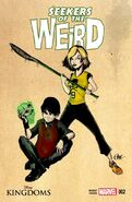 Disney Kingdoms Seekers of the Weird 2 Variant Cover