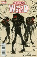 Seekers of the Weird 3 Variant Cover