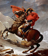 Jacques-Louis David - Napoleon Crossing the Alps - Schloss Charlottenburg