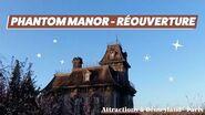-ROUVERTURE- Phantom Manor à Disneyland® Paris