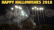 Happy Hallowishes Fireworks Show 2018 - Walt Disney World