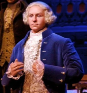 George Washington in The Hall of Presidents
