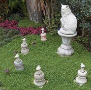 Cat and Birds Pet Cemetery