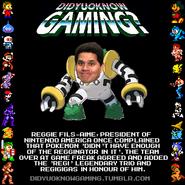 Reggies legacy