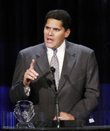 Reggie giving speech