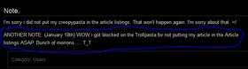 Creepypasta wiki GF1 old user profile lol 2 note