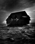 House in the ocean