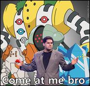 Reggie is the best pokemon trainer
