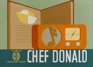 Chef Donald - title card
